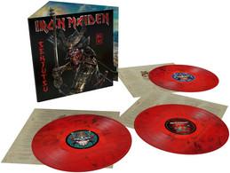 Iron Maiden - 33t X3 Vinyles Rouge & Noir - Senjutsu - Neuf & Scellé - Hard Rock & Metal