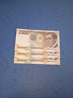 ITALIA-P115  2000L 6/3/1992 UNC  (3 Consecutivi) - 2000 Lire