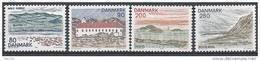 Danemark 1979 Série Neuve**  N° 691/694 Paysages Du Nord Jutland - Ungebraucht