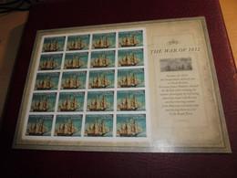 USA; The War Of 1812, Mi.Nr. 4880 BB  Ungestanzt - Blocks & Kleinbögen