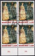 UNO GENF 1981 Mi-Nr. 99 Viererblock O Used - Aus Abo - Gebraucht