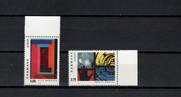 Denmark 1993 Paintings Troels Wörsel, Stig Brogger, Europa CEPT Set Of 2 MNH - Moderni