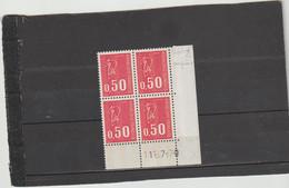 N° 1664 - 0,50 BEQUET - 3 PHO  Jusque Sur La Bordure - 17° Tirage/2° Partie Du 19.6 Au 21.7.72 - 11.07.1972 - - 1970-1979