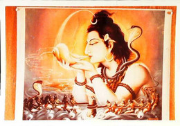 ► Carte Photo  Krishna  Buvant Le Poison - Altri