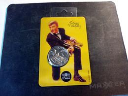 Mini-Médaille Johnny Hallyday - Série Genoux . Sous Blister - Other