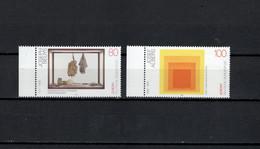 Germany 1993 Paintings Sculptures, Josef Beuys, Josef Albers, Europa CEPT Set Of 2 MNH - Moderni