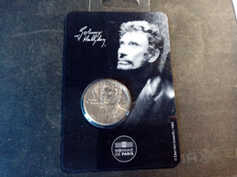 Mini-Médaille Johnny Hallyday - Série Mystique. Sous Blister - Other