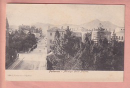 OLD POSTCARD - ITALY -    PALERMO - ALBERGO DELLE PALME 1900'S - Palermo