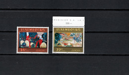 Luxemburg 1993 Paintings, Fernand Roda, Sonja Roef, Europa CEPT Set Of 2 MNH - Moderni