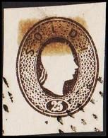 1860. Lombardei Und Venetien. Franz Joseph I. 25 SOLDI.  Imperforated. Interesting Ol... () - JF510055 - Austrian Occupation