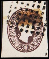1860. Lombardei Und Venetien. Franz Joseph I. 30 SOLDI.  Imperforated. Interesting Ol... () - JF510057 - Austrian Occupation