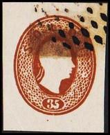 1860. Lombardei Und Venetien. Franz Joseph I. 35 SOLDI.  Imperforated. Interesting Ol... () - JF510058 - Austrian Occupation