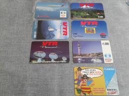 Chile -  7 Rarer Phonecard - Chile