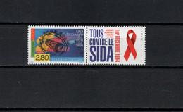 France 1994  Luc Montagnier, Aids, Europa CEPT Stamp MNH - Malattie