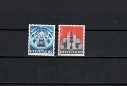 Switzerland 1993 Architecture Mario Botta, Europa CEPT Set Of 2 MNH - Altri