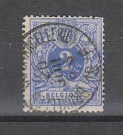 COB 27 Oblitération Centrale BRUXELLES Chancellerie - 1869-1888 Lion Couché