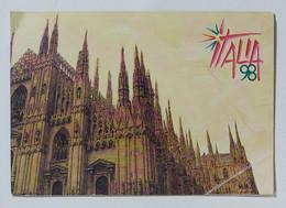 06693 127crt/ Libretto Esposizione Filatelia Italia 98 Fiera Di Milano - Lotti E Collezioni