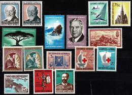 Zuid West Africa  Small Lot Of 16 Stamps  Mixed Thematics - Namibia (1990- ...)