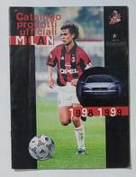 10272 Catalogo Prodotti Ufficiali A.C. Milan 1998/99 - Abbigliamento, Souvenirs & Varie