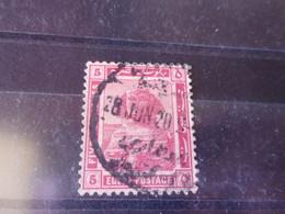 EGYPTE YVERT N° 60 - 1915-1921 British Protectorate