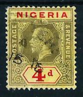 Nigeria (Británica) Nº 14 Usado Cat.7,50€ - Nigeria (...-1960)