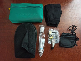 AIRLINES - AMENITY KIT TURKISH AIRLINES - GREEN - UNUSED AS IN PIC - ASK FOR SHIPPING - Sonstige