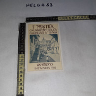 FB11153 SOVERATO 1984 TIMBRO ANNULLO 1'' MOSTRA CALABRESE DELLA CARTOLINA D'EPOCA - 1981-90: Storia Postale