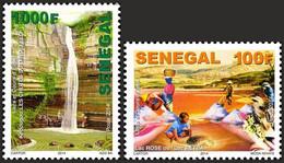 Senegal 2014 Chûtes D'eaux, Lac Retba, Sel, Chlorure De Sodium, Cormoran, Martin-pêcheur, Tortue - Non Classificati
