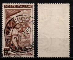 # Italia Al Lavoro 40 Lire Filigrana Ruota 1 Sinistra Alta - 1946-60: Usati