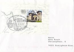 Germany Cover Franked W/LIMES Souvenir Sheet Posted 2007 Schwäbisch Gmund Treffpunkt (DD31-45) - Briefe U. Dokumente