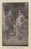 PALERMO /  Giovani In Posa Nella Ricorrenza Della Festa Del Balilla _ 14 Dicembre 1933 - Palermo