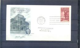 UNITED STATES 1955 FDC PENNSYLVANIA ACADEMY - 1951-1960
