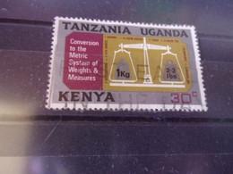 KENYA OUGANDA TANZANIE YVERT N° 210 - Kenya, Uganda & Tanzania