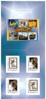 FRANCE  RARE CARNET COLLECTOR  LA POSTE PLATE FORME INDUSTRIELLE DU COURRIER DE CRETEIL PLIE D'ORIGINE VOIR SCANS - Collectors