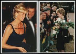 BL130/131**(1712/1713) - Diana (1961-1997) - CONGO - Ongebruikt