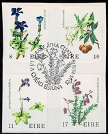 Irland 1978,Michel# 376 - 379 O   Wild Flowers - Usati