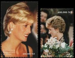 1712/1713**(BL130/131) - Diana (1961-1997) - CONGO - Ongebruikt