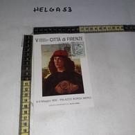 FB11173 FIRENZE 1976 TIMBRO ANNULLO V CONVEGNO INTERNAZIONALE E NUMISMATICO PALAZZO BORSA MERCI - 1971-80: Storia Postale