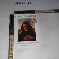 FB11174 FIRENZE 1976 TIMBRO ANNULLO V CONVEGNO INTERNAZIONALE E NUMISMATICO PALAZZO BORSA MERCI - 1971-80: Storia Postale