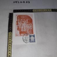 FB11175 NORCIA 1980 TIMBRO ANNULLO XV CENTENARIO NASCITA SAN BENEDETTO GIORNO DI EMISSIONE - 1971-80: Storia Postale