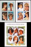 BL127/129**(1698/1711) - Diana (1961-1997) - CONGO - Ongebruikt