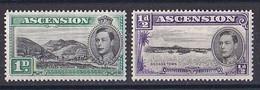 Ascension ( 1937 King  George VI )  N ° 38 ET 39   Neuf ** - Other