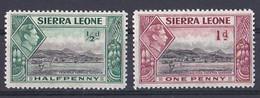 Sierra Léone ( 1937 King  George VI )  N ° 158 Et 159  Neuf ** - Other