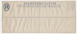 Gold Coast Colony QV Postal Stationery Registered Letter Unused B211015 - Gold Coast (...-1957)