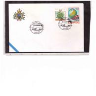 TEM15120  -   SAN MARINO  23.9.2000    /  26° FILFER (TEMATICA TRENI )  LUCCA 2000 - 12° SALONE DEL COLLEZIONISMO - Esposizioni Filateliche