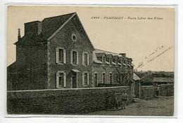 22 PLOUAGAT Ecole Libre Des Filles écrite En 1915 Par Militaire  Voir Dos  - Coll Hamonic 4966    D20 2019 - Other Municipalities