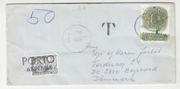 Denmark - Taxed (ported) Letter Cover Posted 1976 Austria To Denmark B211015 - Portomarken