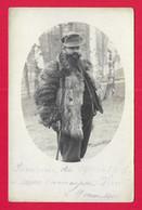 Carte Photo Militaria - Cliché Lichius à Wahn - Souvenir De Captivité - Protagoniste Dénommé Menneson D'Aizelles - Oorlog 1914-18