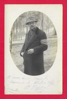 Carte Photo Militaria - Cliché Lichius à Wahn - Souvenir De Captivité - Protagonistes Dénommés Vernlé Et Berthout - Oorlog 1914-18