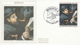 MONACO FDC 1991 PEINTURE DE MONET - FDC